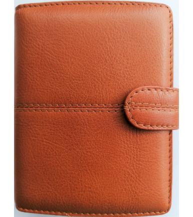 Succes Organiser Stitch Cognac pocket