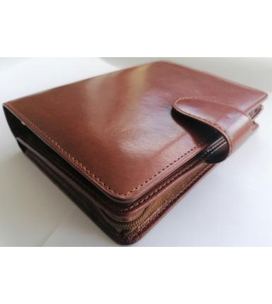 Succes Agenda Wallet DeLuxe Brandy Senior