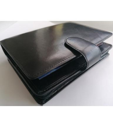 Succes Agenda Wallet DeLuxe Black Senior