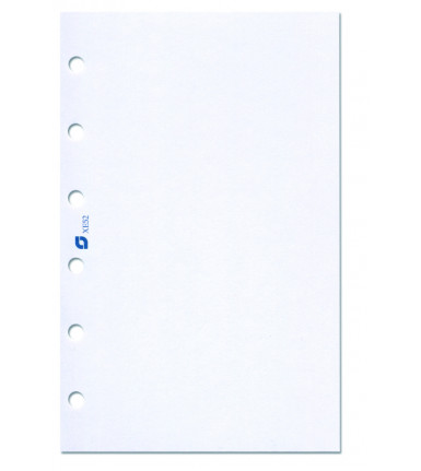 Notepaper, blank, white