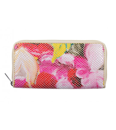 Wallet with zipper Sunny Flower