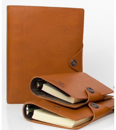 Succes Agenda Fred de la Bretoniere Old Classic brown pocket