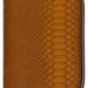Krokoo Buckle Zipper Cognac