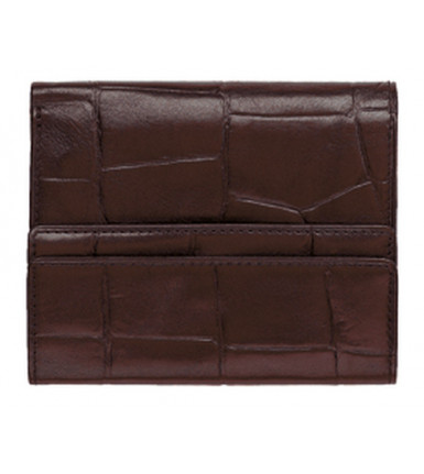Wallet with flap Firenze brown