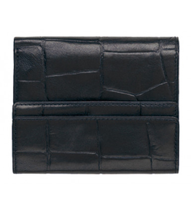Wallet with flap Firenze brlack