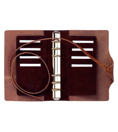 Succes Agenda Fred de la Bretoniere Old Classic brown mini
