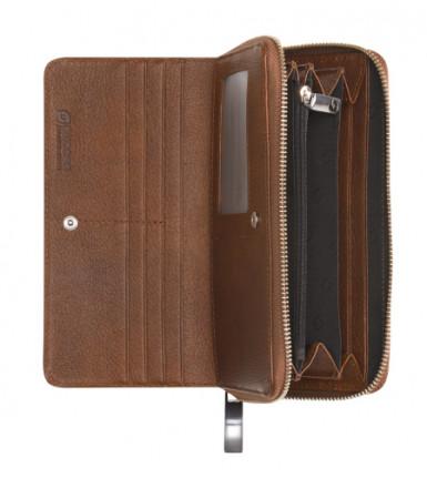 Ladies wallet with zipper Struzzo