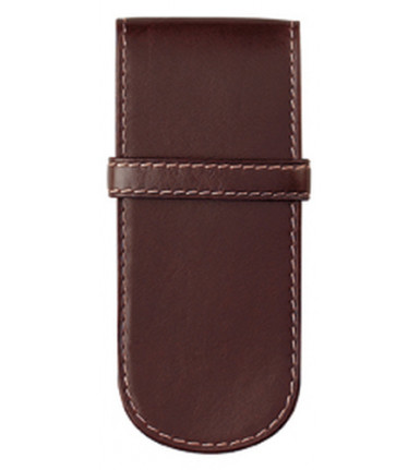 3-compartment Pencase Santiago brown